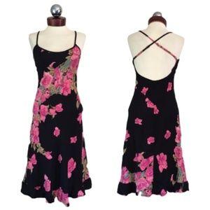 Vintage 90's BETSEY JOHNSON Floral dress S